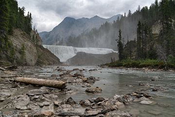Wapta Falls, Yoho National Park, British Columbia, Kanada von Alexander Ludwig