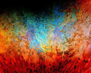 Natuurgeweld in kleur van Ina Hölzel
