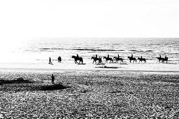 Reiten am Meer von Anouschka Hendriks