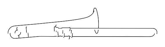 Trombone Silhouet