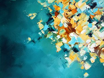 Autumn Textures 6 van Maria Kitano