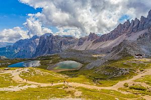 De Drei Zinnen in de Dolomieten in Italië - 6 van