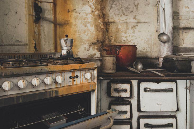 Ancienne cuisine italienne par l\'artiste Perry Wiertz