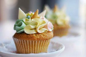 Eenhoorn cupcake van Marieke de Jong