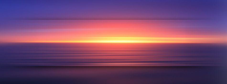 Sonnenuntergang van Marion Tenbergen