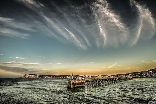 De pier van Le Treport