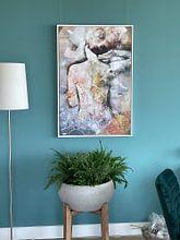 Klantfoto: Blush van Jacky Gerritsen, op canvas