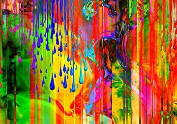 Abstrakt Liquid ten