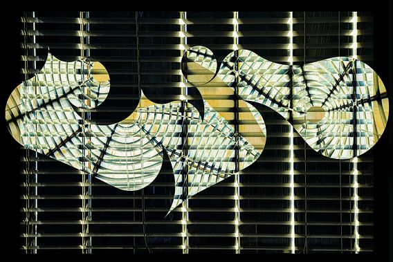 Figuren en vormen - abstract gevogelte