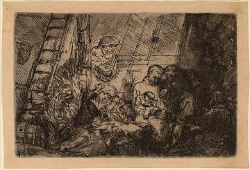 Rembrandt van Rijn Die Beschneidung in den Stall von