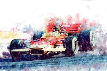 Jochen Rindt, Lotus Nr.3 von Theodor Decker