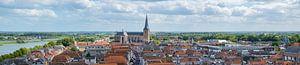 Uitzicht over de Hanzestad Kampen aan de IJssel