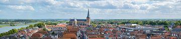 Blick über die Hanse-Liga Kampen in Overijssel von Sjoerd van der Wal