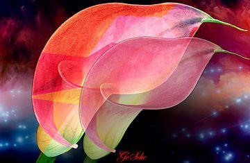 Florale Spielerei von Gertrud Scheffler