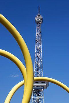 yellow snake von Bernd Hoyen