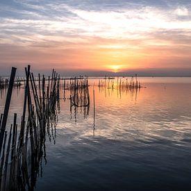 Sunset in Spain van Frans Nijland