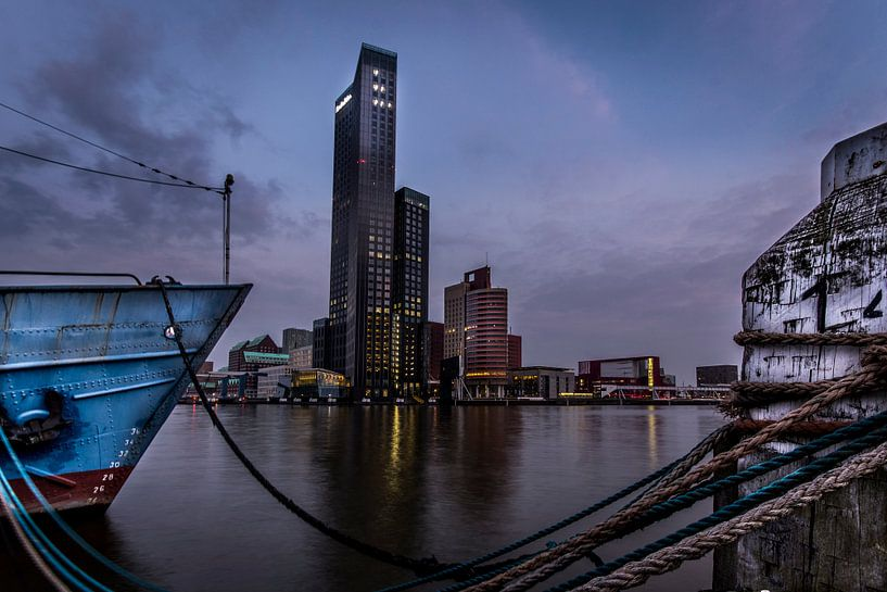 Maastoren Rotterdam van Martijn Barendse