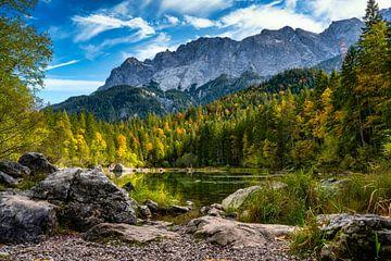 Der Frillensee beim Eibsee in den Alpen von PhotoArt Thomas Klee