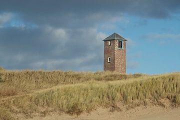 Torentje in de duinen bij Zoutelande van Maurice Welling