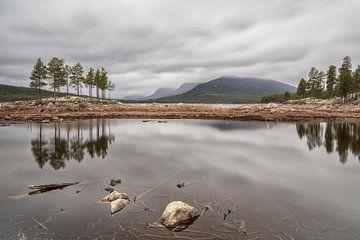 Stürmisches Wetter in Norwegen (Pålsbufjorden - Geilo) von Marcel Kerdijk
