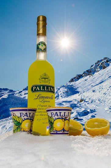 Pallini Limoncello - in de winter van Photography by Karim