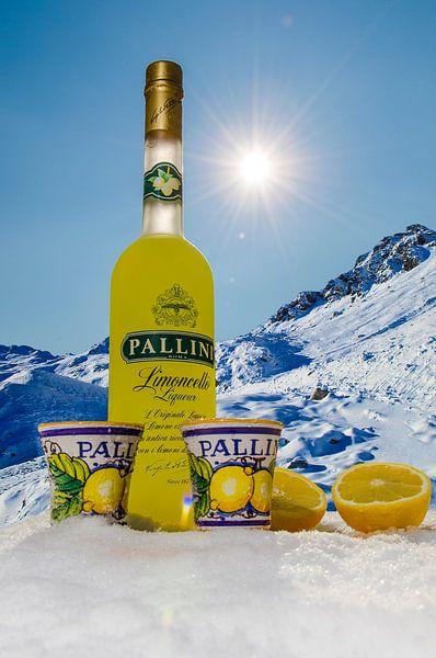 Pallini Limoncello - in de winter