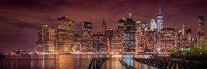 NEW YORK CITY Indruk nacht | Panorama