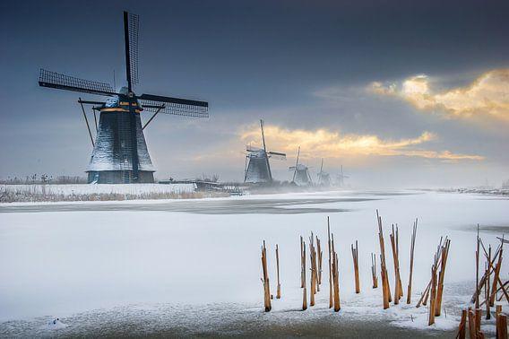 Windmolens Kinderdijk