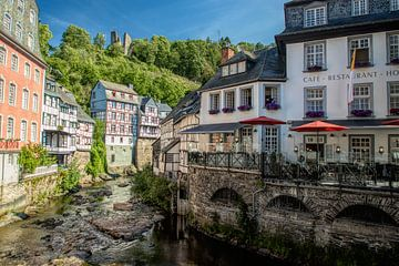 Monchau stad von ColorsofNaturePhotography Jeanet Groenewoud
