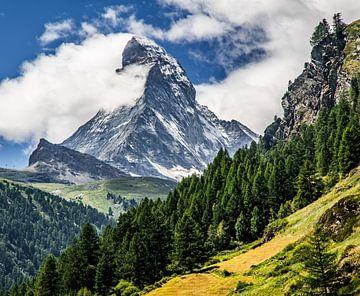 Matterhorn in Zwitserland von Ralf van de Veerdonk