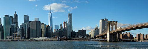 Brooklyn Bridge & Manhattan van Borg Enders