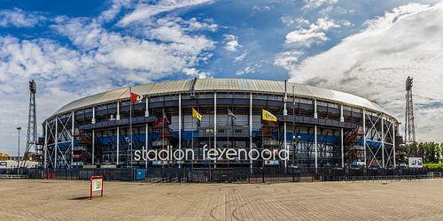 """Feyenoord Stadion """"De Kuip"""" in Rotterdam von MS Fotografie"""