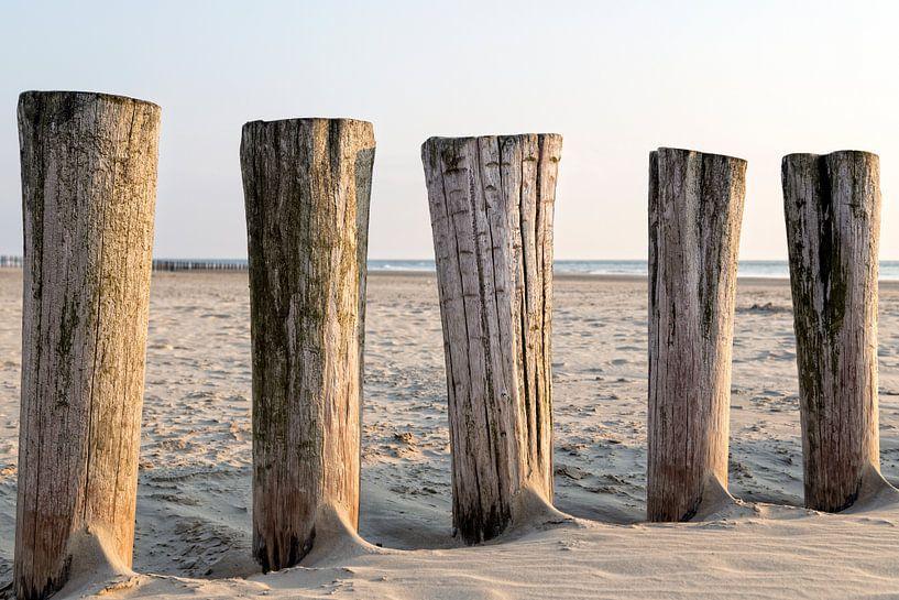 Een dag op het strand.. van Miranda van Hulst