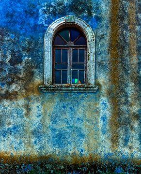 Alte Fenster1 von Henk Leijen