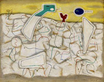 Helle Bewegung 3, WILLI BAUMEISTER, 1947