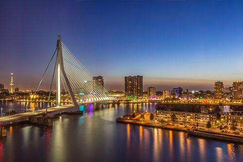 Rotterdam after sunset von Tux Photography