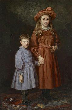 Die Pierce-Kinder, Theodore Clement Steele