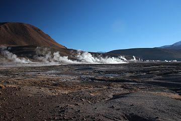 El Tatio-Geysire, Altiplano, Anden, Chile von A. Hendriks
