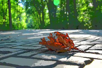 Fallen die Blätter im Wald haagsche sur Jan Radstake