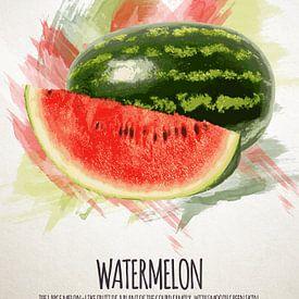 Fruities Watermeloen van Sharon Harthoorn