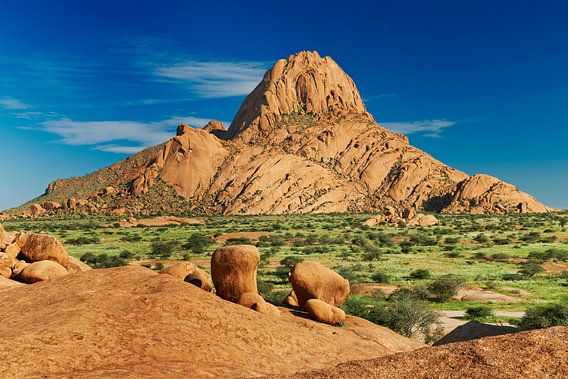 Spitzkoppe, mountain landscape of granite rocks