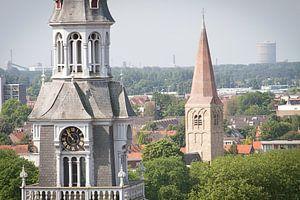 Laurentius kerk en hervormde kerk centrum Heemskerk