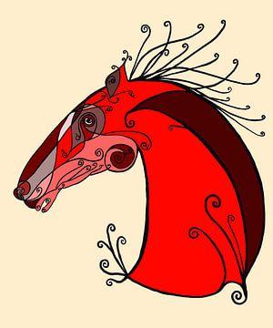 Mechanisch paard von Monique Schilder