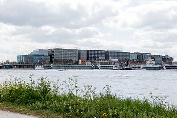Skyline Amsterdam IJ van Jaap Mulder