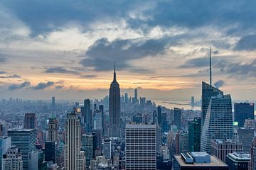 New Yorker Skyline von der Aussichtsplattform des The Rock von Mohamed Abdelrazek