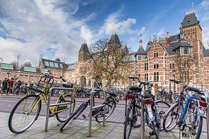 de fietsen van het Rijksmuseum