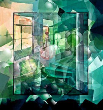 Die Frau am Fenster. von Gertrud Scheffler