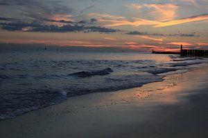 Romantic Beach Sunset