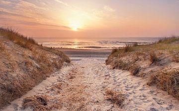 Texel strandopgang  von John Leeninga