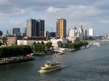 Panorama op de Willemskade, Veerhaven van